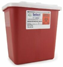 Lot of 4! | 2 Gallon Multi Needle Disposal Sharps Container Lid doctor tattoo