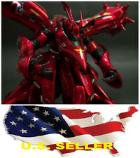 ❶❶Metal Detail-Up Parts Set For MG RE 1/100 Nightingale Gundam RED US seller❶❶
