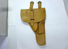 FRENCH FOREIGN LEGION TAN LEATHER 9MM MAB P-38 PISTOLS HOLSTER