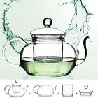 350ML-1000ML Heat Resistant Glass Teapot with Infuser Double Wall Glass Tea Cup