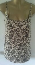 Juniors Girls Top by Designer Apostrophe Pretty With Bra Linning Tank Floral Wow