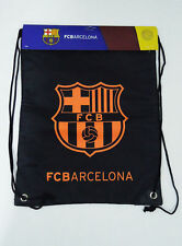 Official FC Barcelona Soccer Gym Sack Cinch Bag Football Drawstring Backpack