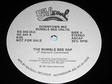 Bumble Bee Unltd.: The Bumble Bee Rap 12""
