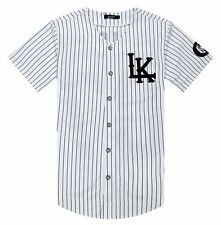 Last Kings baseball tyga jerseys black white Men Women Hip Hop T-Shirt