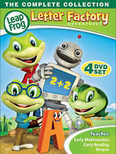 LeapFrog: Letter Factory Adventures - The Complete Collection (DVD, 2016) New