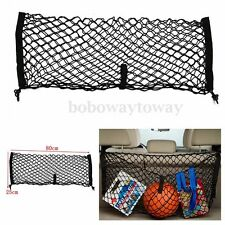 80x25cm Trunk Car Auto SUV Rear Cargo Luggage Organizer Storage Mesh Net Nylon