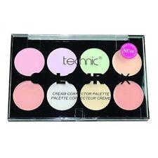 Technic Colour Fix Cream Corrector 8 Shade Makeup Palette - Concealer Kit
