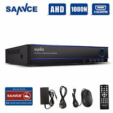 SANNCE 16CH HD 1080N HDMI DVR Home Video AHD Recorder Security CCTV System P2P