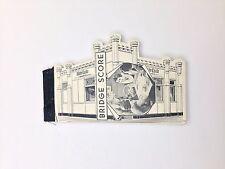 VINTAGE 1940'S  WHITE CASTLE HAMBURGER BRIDGE SCORE BOOKLET OLD