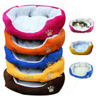 Puppy Pet Dog Cat Fleece Cozy Warm Bed Flannel Cotten House Plush Nest Mat Pad#L
