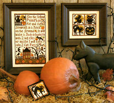 "Prairie Schooler ""Pumpkin Patch"" Counted Cross Stitch Pattern Halloween"