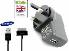 "Samsung Galaxy Tab 2 p1000 Cable and USB Wall charger for Tablet 10.1"" 7"" 9"" UK"