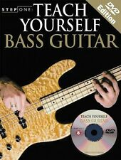 Step One: Teach Yourself Bass Guitar - Book with DVD NEW 014028138