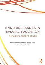 Enduring Issues In Special Education, Barbara Bateman