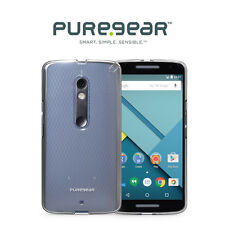 NEW PureGear Slim Shell Case for Motorola DROID Maxx 2 - Clear
