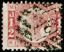 Sg49, ½d rose plate 6, good used. Cat £22. KM