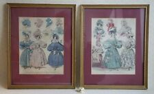 Antique Fashions for November 1831 Morning and Evening Dresses Oktober 1832 St