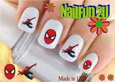 "RTG Set#593 CHARACTER ""Spiderman Flying"" WaterSlide Decals Nail Art Transfers"