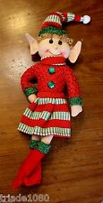 "NWT 14"" Elf Girl, Toy, Doll, Plush, Hand Crafted, Bendable  #342 - Sits on Shelf"
