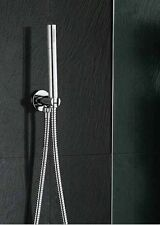 Brass Round Handheld Shower Head with Hose and brass Bracket Holder shower kits
