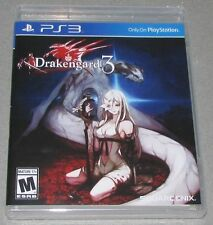 Drakengard 3 for Playstation 3 Brand New! Factory Sealed!
