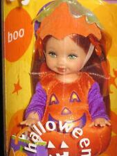 2002 HALLOWEEN Party Barbie Doll Li'l Friends of Kelly Kerstie is Pumpkin