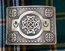 Men's Celtic Knot Kilt Belt Buckle Antique/Highland Kilt Belt Buckle Celtic Knot