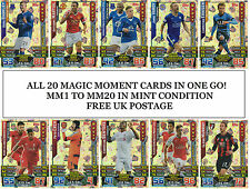 Topps Match Attax EXTRA 2015 2016 FULL SET 20 MAGIC MOMENTS MM HOLOFOIL cards