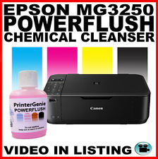 Canon MG3250: Head Cleaner - Nozzle Cleanser: Streaky Print Fix - Printer Clean