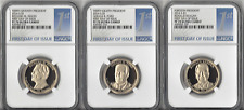 2016-S Presidential Dollar 3-Coin Proof Set NGC PF70UC First DAY of Issue.