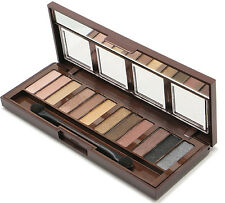 City Color Barely Exposed Eye Shadow Palette -Nudes, coppers, browns and greys