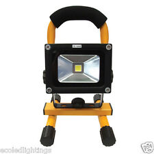 10W Rechargeable LED Flood Floodlight Work Light Portable Caravan Camping Lamp