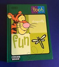 NORMA WINNIE THE POOH Tigger Plasticized Cardboard Notebook Journal School Diary