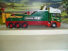 WRECKER/RECOVERY/TOW TRUCK  SCANIA UNDERLIFT MASON BROS 1/50 SCALE
