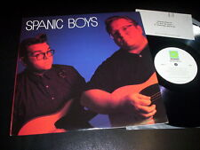 "Spanic Boys ""SAME"" LP ROUNDER USA 1990"
