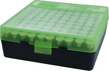 MTM Case-Gard Handgun Ammunition Ammo Storage Box 100 Round P-100-44 Green Black