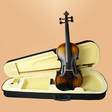 Full Size 4/4 Violin/Fiddle Hard Maple Wood W/ Case Bow Rosin-CC TYPE 4/4 VIOLIN