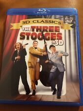 THE THREE STOOGES IN 3D Blu-ray 3D