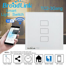 Broadlink TC2 Three Touch Panel APP Control Timer 433MHz Smart Wifi Wall Switch