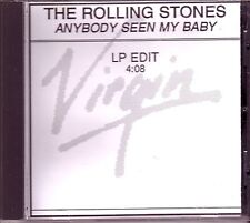 "ROLLING STONES ""Anybody seen my Baby"" Rare 1 Track  PROMO Acetate CD RARE"