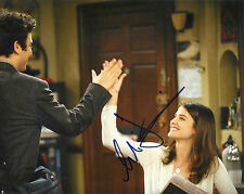 COBIE SMULDERS 'HOW I MET YOUR MOTHER' ROBIN SIGNED 8X10 PICTURE *COA 5