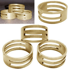 DIY Raw Brass Jump Ring Open/Close Finger Tool For Jewellery Making 19x9mm MW
