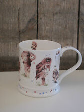 Dunoon - Kaffee Becher / Tasse - Iona - Owls by Kate Osborne - Eule / Eulen