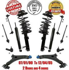Complete Strut & Coil Assembly + Rear Shocks + Control Arm Steering Chassi Kit