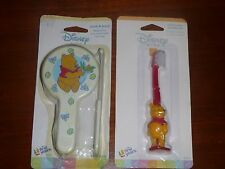 Winnie the Pooh Comb Brush Set Colorful Disney New and Toothbrush