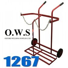 Gas Portable Welding Trolley 1267 Bottle Welder 2 Cylinder Twin Oxygen Acetylene