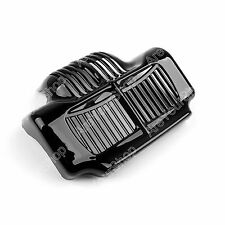 Black Stock Oil Cooler Cover For 11-15 Harley Touring Electra Road Street Glide.