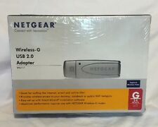 Netgear Wireless-G  USB 2.0 Adapter WG111  G 54 MBPS.
