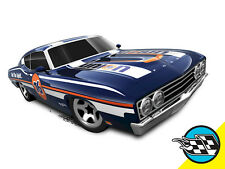 Hot Wheels Cars - '69 Ford Torino Talladega Blue