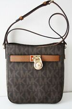 Michael KORS Borsa/Borsa a tracolla Hamilton Traveler LG Crossbody Brown/LUGGAGE
